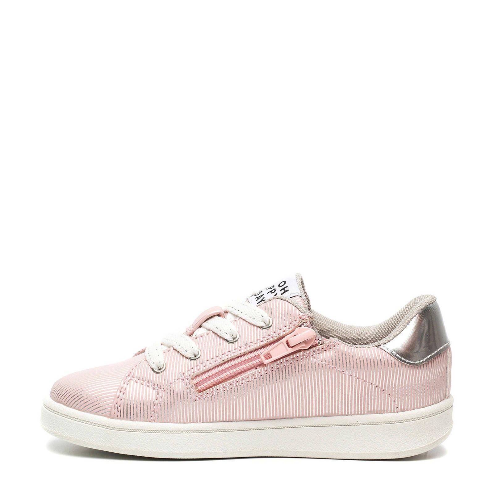 d51e3e41c6e Scapino Blue Box sneakers roze/zilver | wehkamp