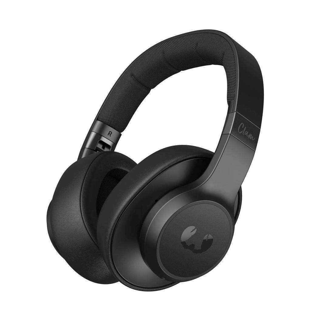 Fresh 'n Rebel CLAM ANC Bluetooth over-ear koptelefoon, Zwart, Over het oor