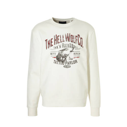 C&A Angelo Litrico sweater met printopdruk