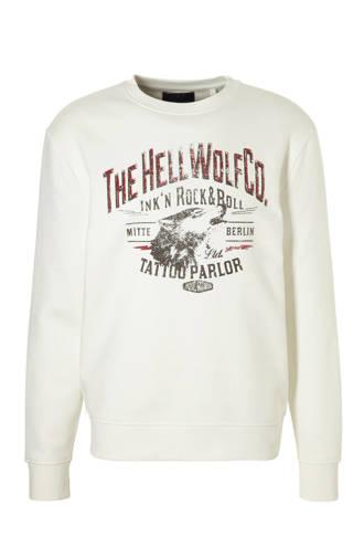 Angelo Litrico sweater met printopdruk