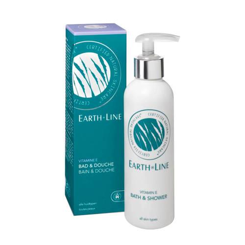 Earth Line Bad and Douche Vitamine E Pomp 200ml