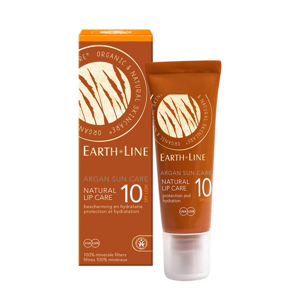 Earth-Line Argan Bio Sun Lip SPF 10 lippenbalsem, Transparant