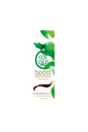 Colour Boost haarkleuring - warm brown