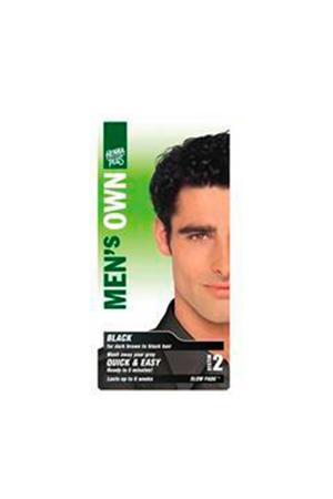 Men's Own haarkleuring - 01 black