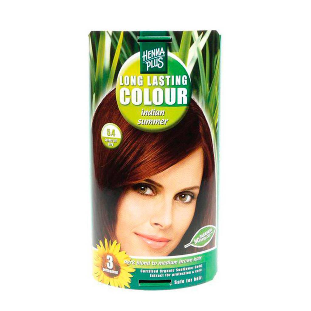 Hennaplus Long Lasting Colour haarkleuring - 05.4 indian summer