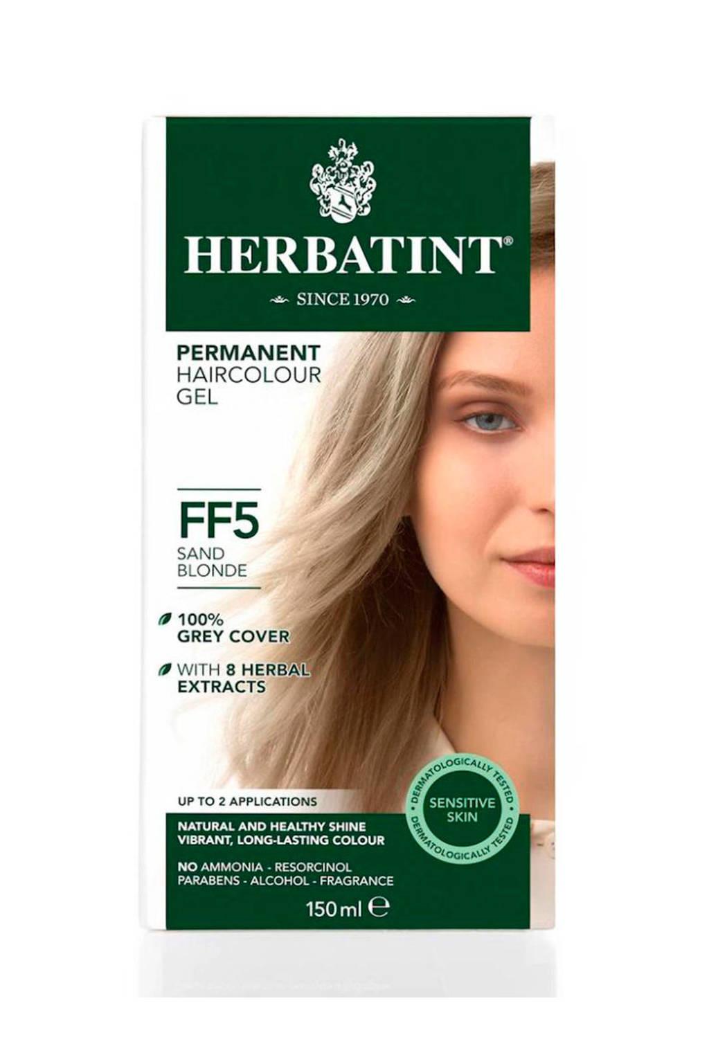 Herbatint Flash Fashion haarkleuring - FF5 sand blonde