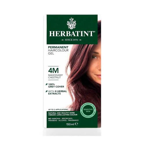 Herbatint Haarverf 4m Acajou Kastanje 150ml