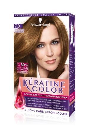 Keratine Color haarkleuring - 7.0 Donkerblond