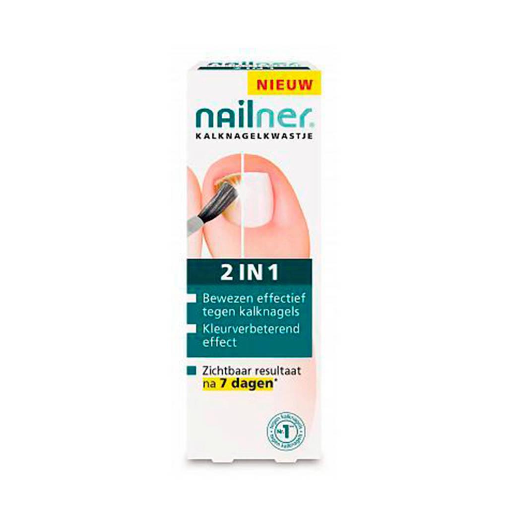 Nailner 2-in-1 brush nagelverzorging