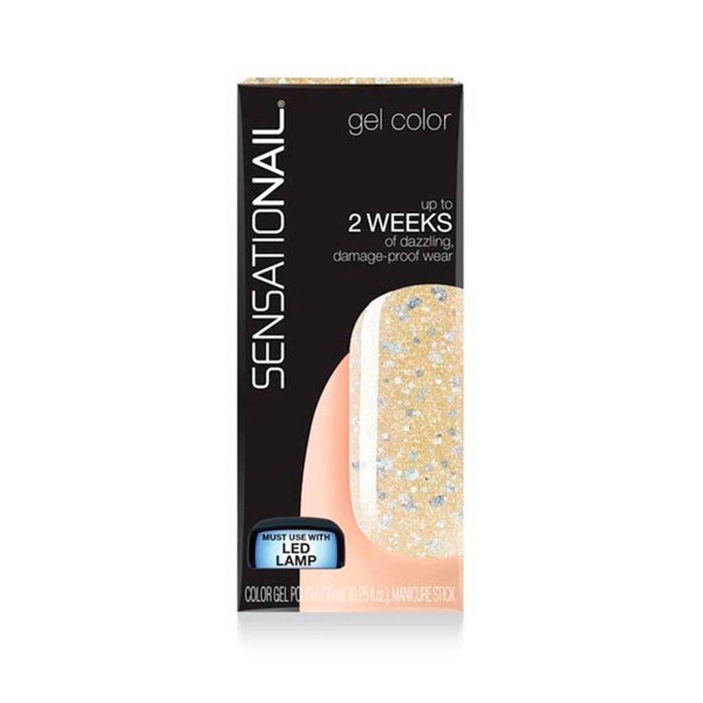 Sensationail gelnagellak -  silver seduct, Silver Seduct
