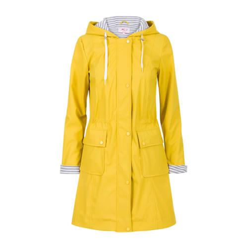 Miss Etam Regulier regenjas geel kopen