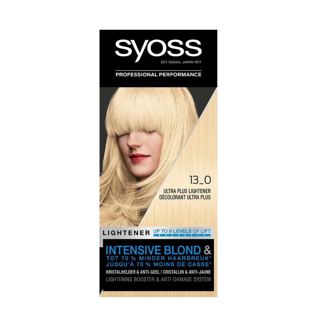Syoss Color Blond Lighteners 13-0 Ultra Plus Lightener 1 stuks, 13-0 ultra plus lightener