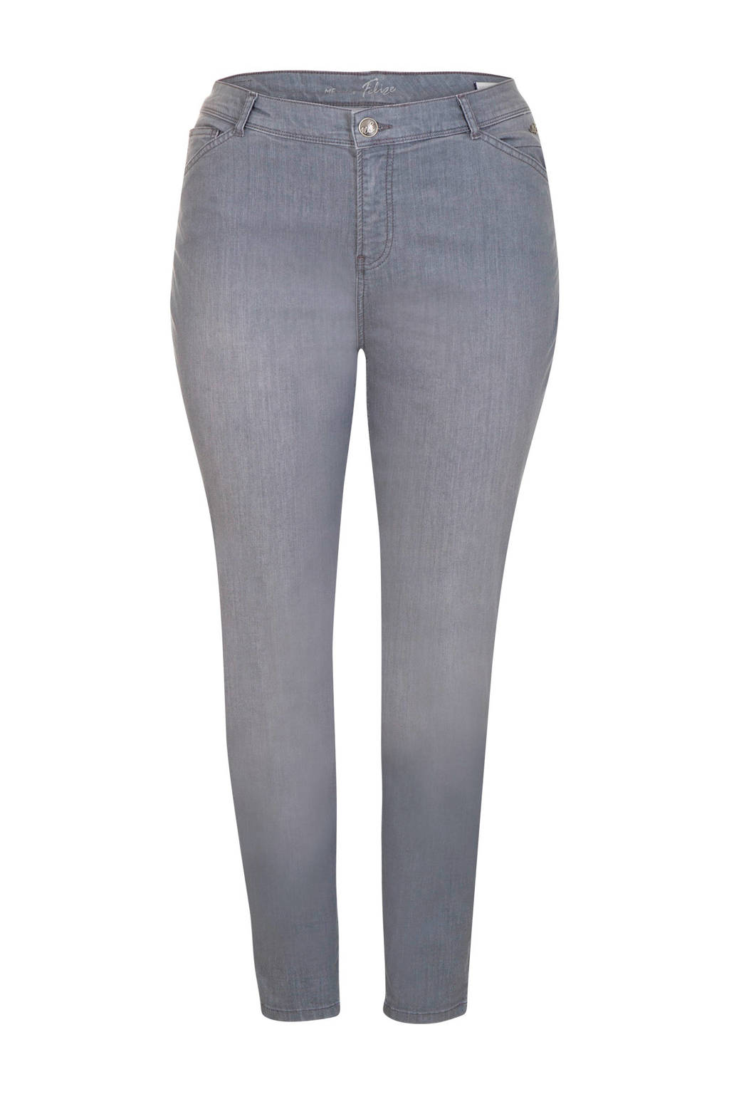 Miss Etam Plus skinny jeans Felize CoolMax® 32 inch, Grijs