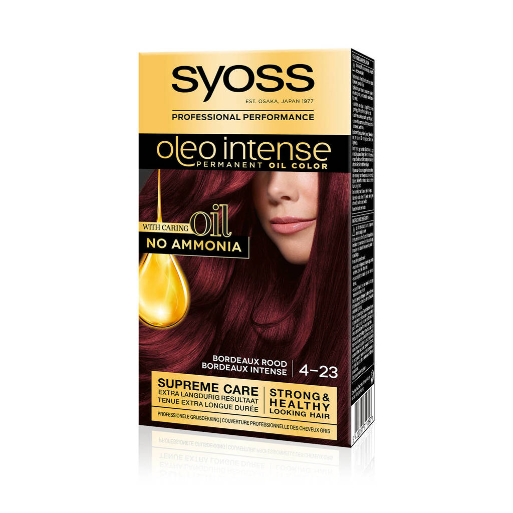 Syoss Color Oleo Intense 4-23 Bordeaux rood 1 stuks, 4-23 bordeaux rood