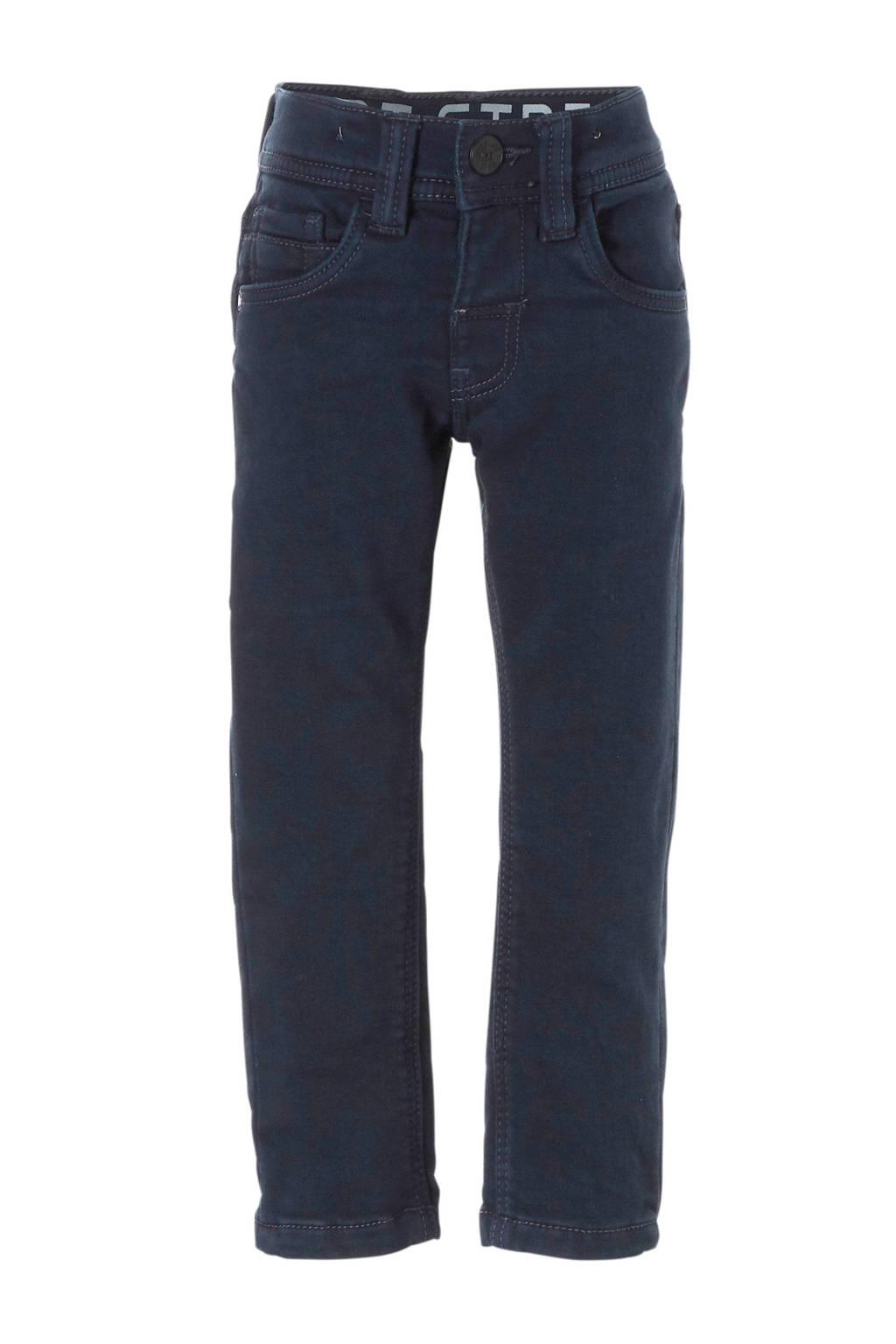 C&A Palomino slim fit thermo broek blauw, Donkerblauw