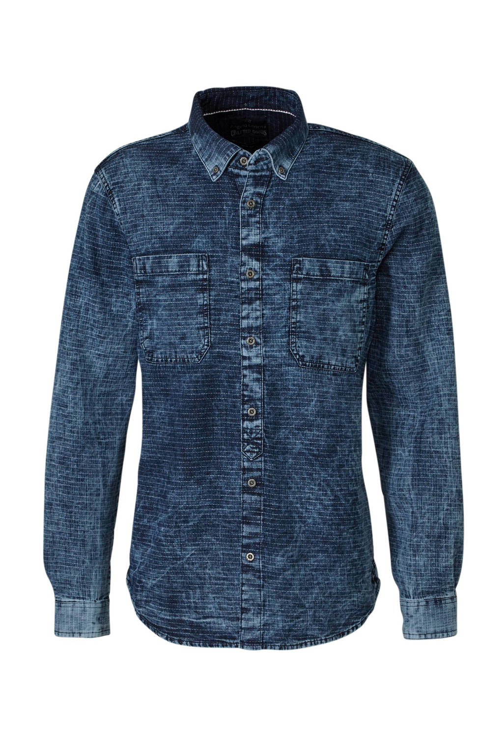 Overhemd Xl.C A Xl Angelo Litrico Slim Fit Overhemd Wehkamp