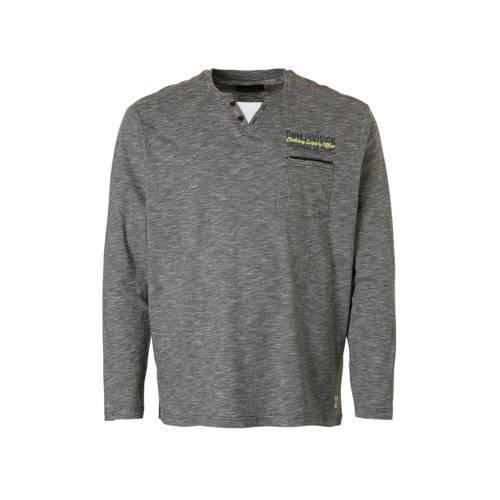 C&A XL Angelo Litrico gestreept T-shirt grijs