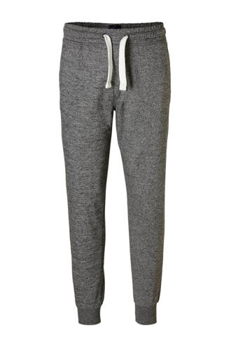XL Angelo Litrico gemêleerde sweatpants grijs
