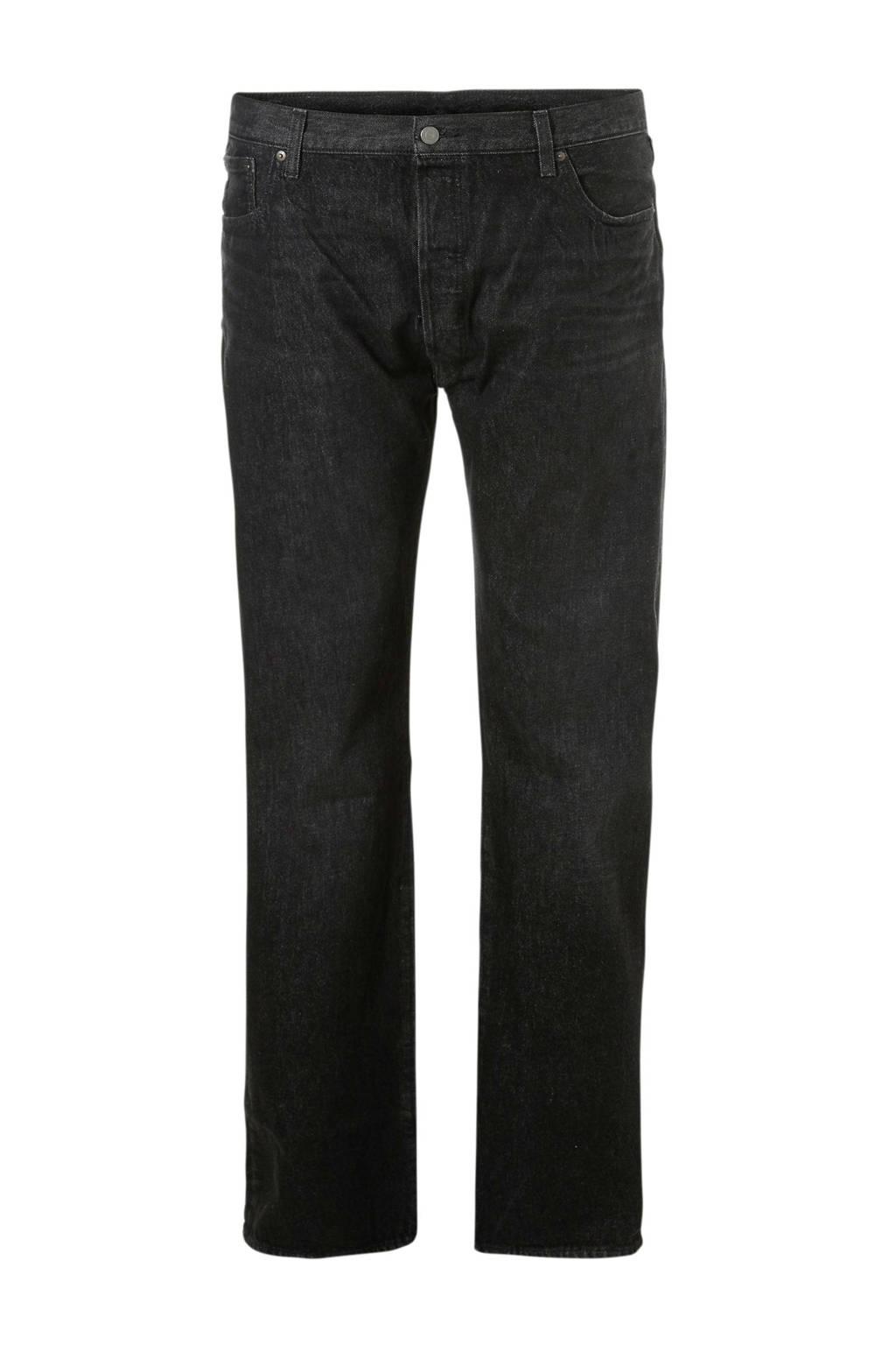 Levi's Big and Tall regular fit jeans 501, Dark denim