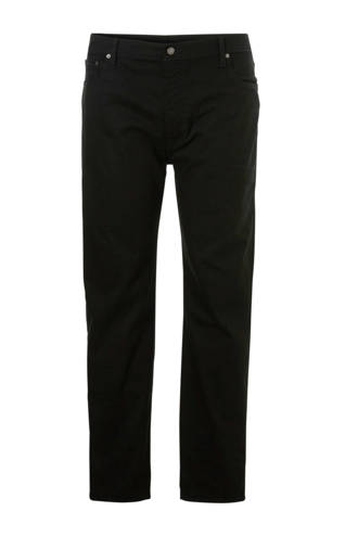 tapered fit jeans 502 zwart