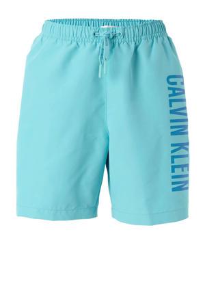 zwemshort met merknaam turquoise