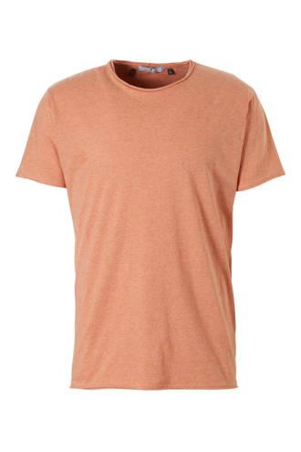 gemêleerd T-shirt brique