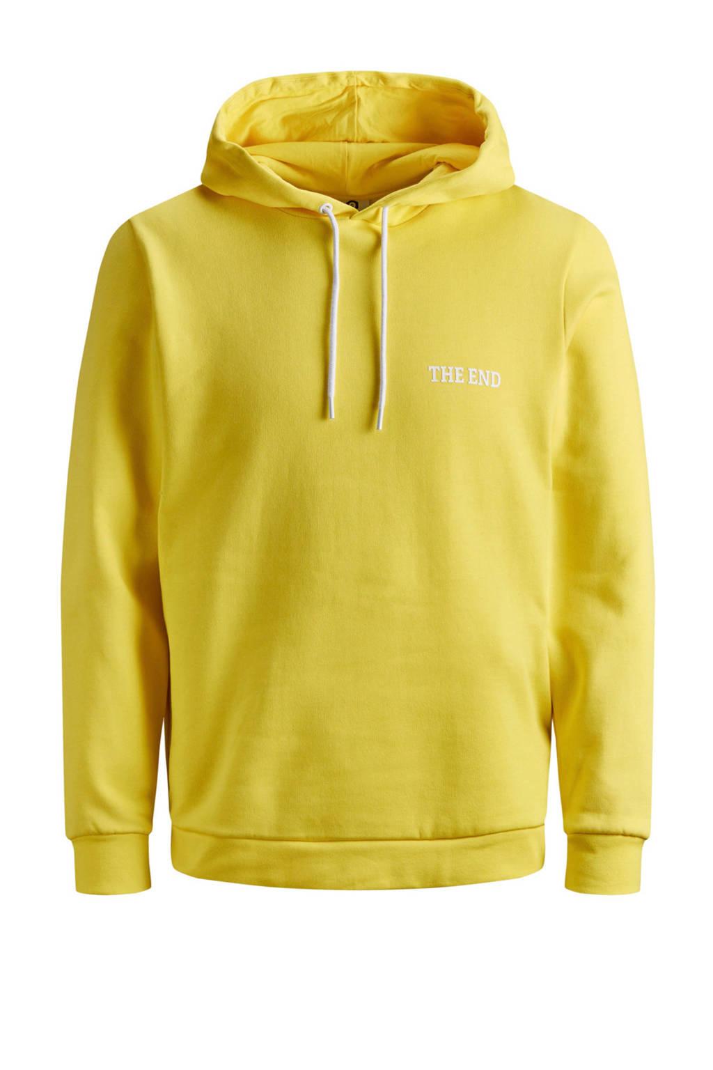 Jack & Jones Core hoodie, Geel