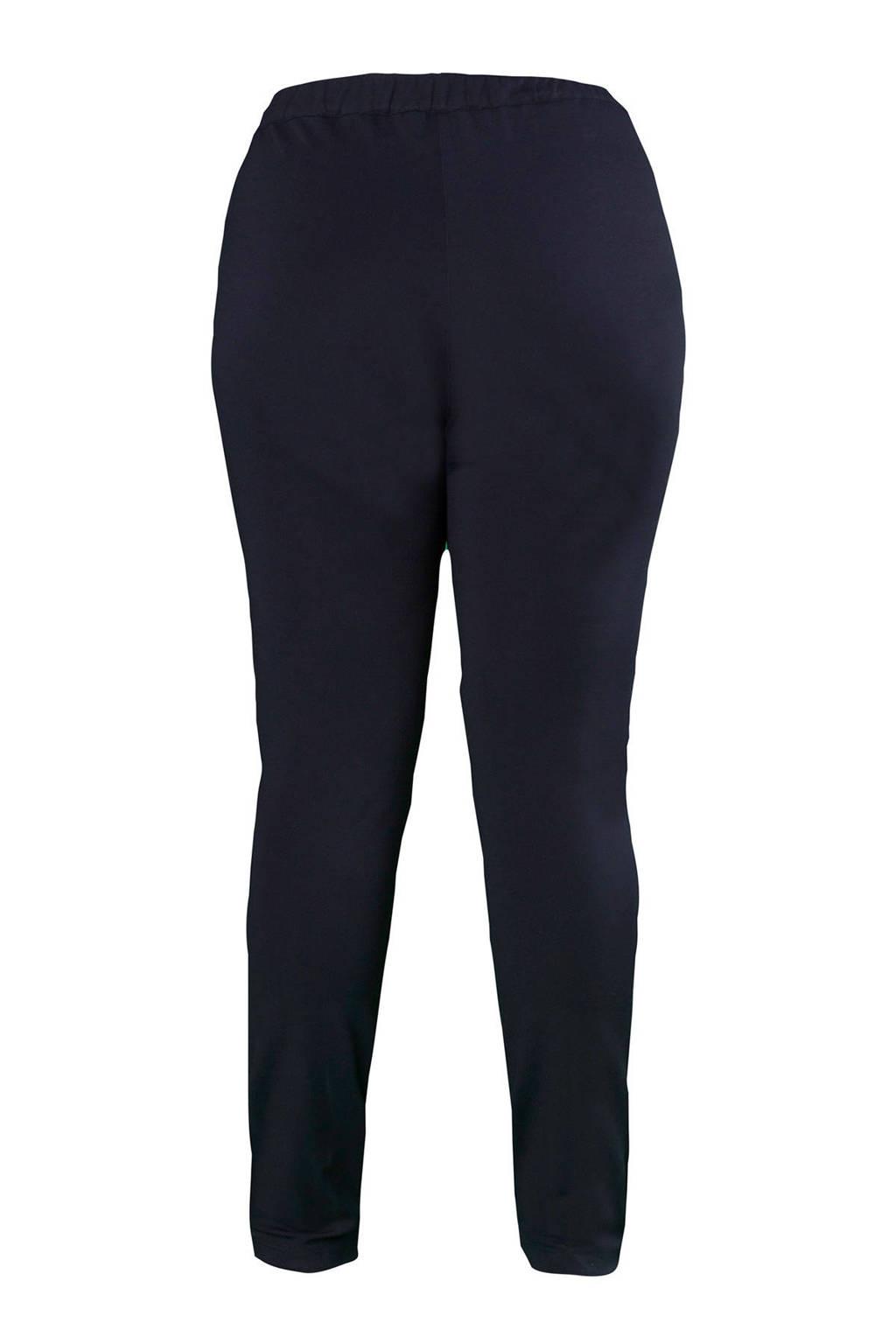 Ulla Popken broek donkerblauw, Donkerblauw