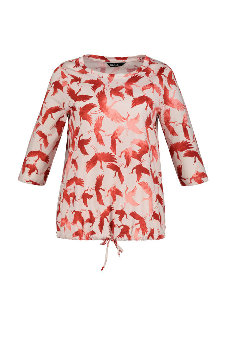blouse Popken print Ulla met all over 71AwAHxF