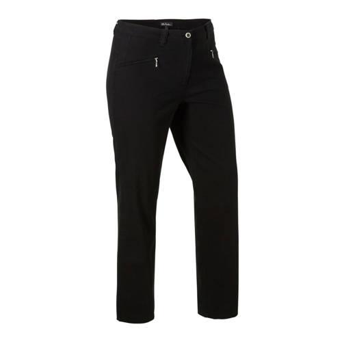 Ulla Popken straight fit jeans zwart