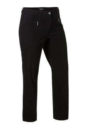 straight fit jeans zwart
