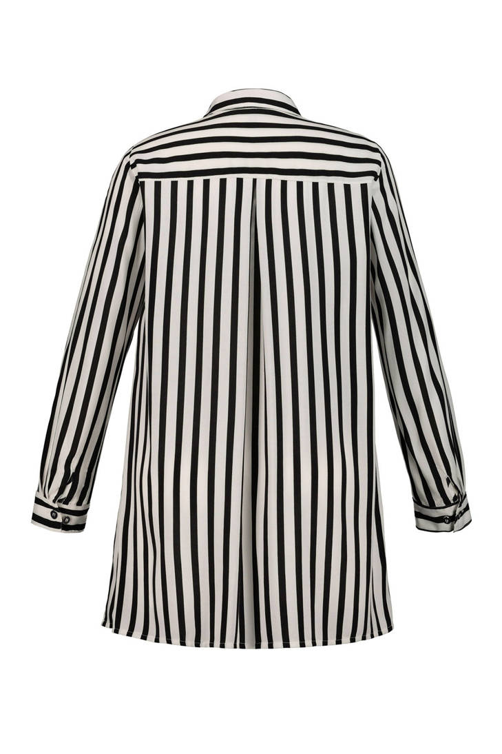 Ulla gestreepte Popken blouse Popken Ulla gestreepte blouse Popken Ulla gestreepte blouse Popken Ulla 45wqBYxX