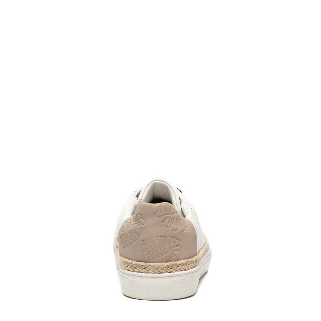 Box Blue beige Wit Scapino Sneakers FqAvw175