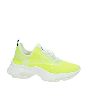Match dad sneakers geel