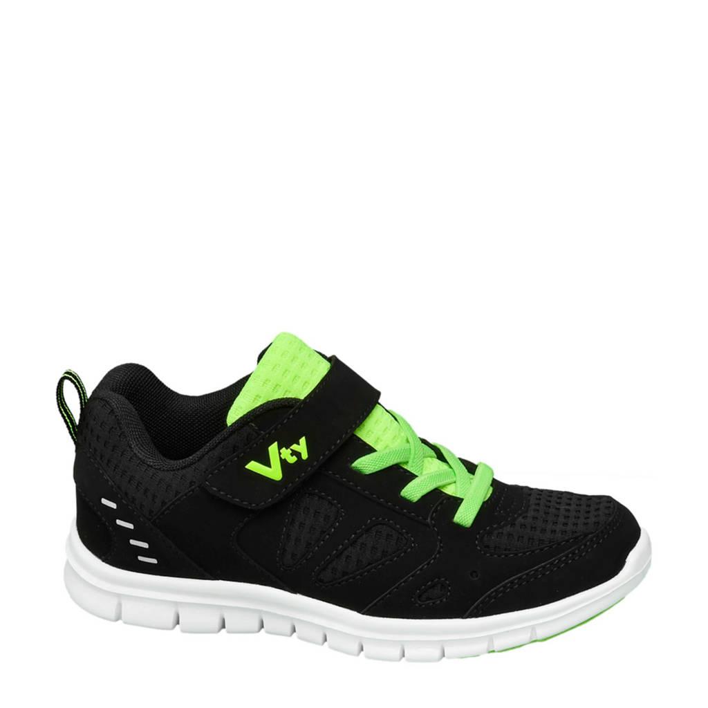 Victory   sneakers zwart, Zwart