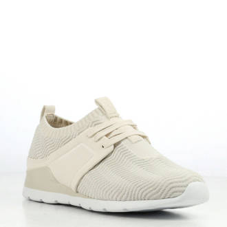 Willow knit sneakers wit