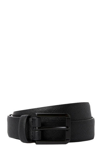 Big & Tall riem zwart