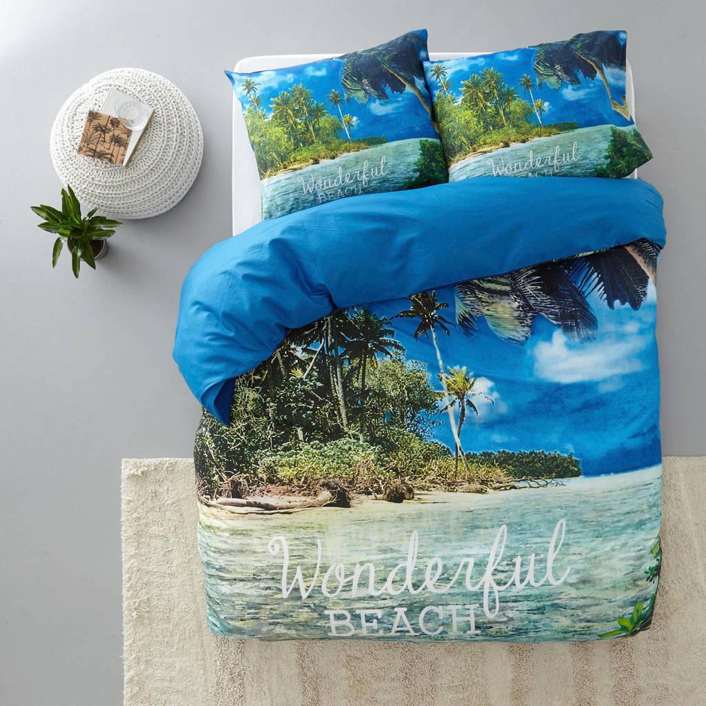 Sleeptime katoenen dekbedovertrek lits-jumeaux, Lits-jumeaux (240 cm breed)