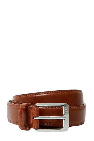 Big & Tall riem cognac
