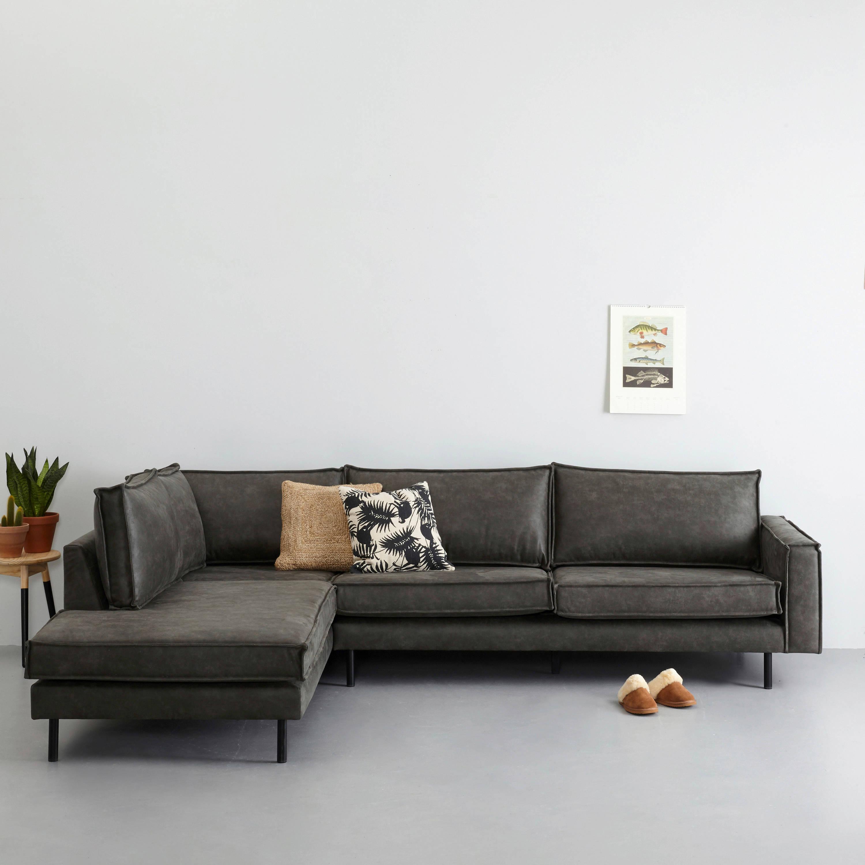 Design Hoekbank Van Leer.Whkmp S Own Eco Leren Hoekbank Links Lexington Wehkamp