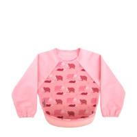 Bibetta mouwslab met nijlpaarden roze, Nijlpaard roze