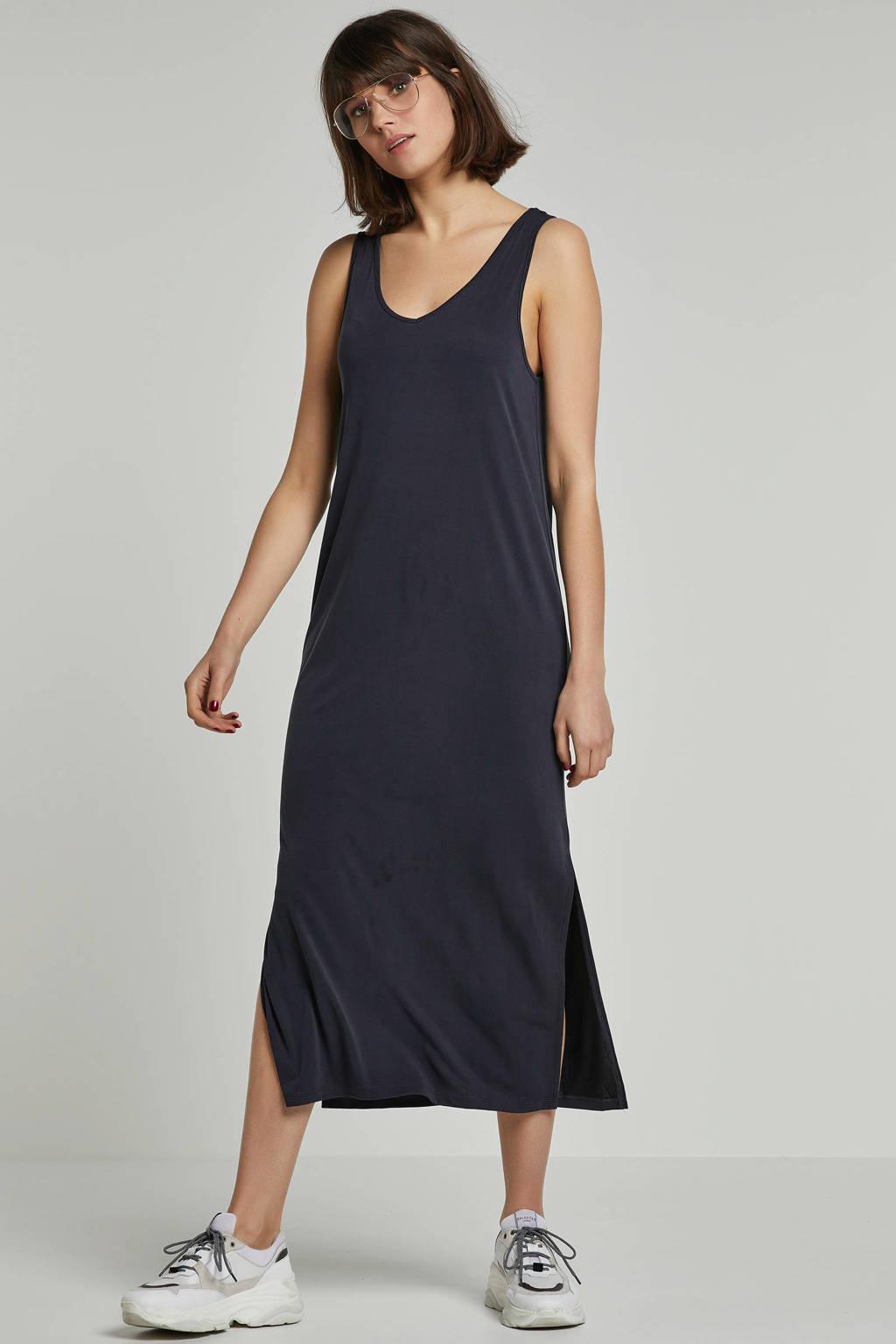 Soaked In Luxury Columbine maxi jurk, Zwartgrijs