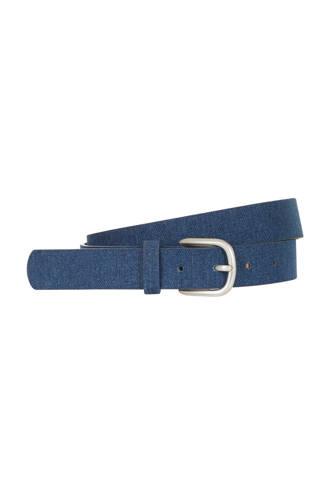 Accessoires riem blauw
