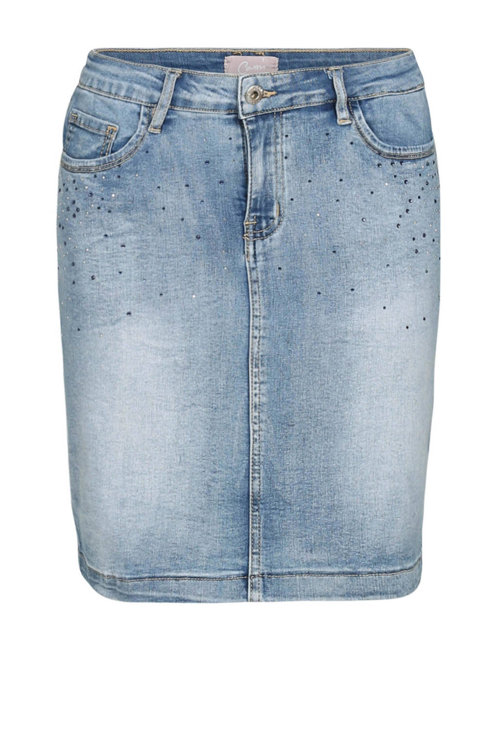 Cassis jeansrok, Blauw
