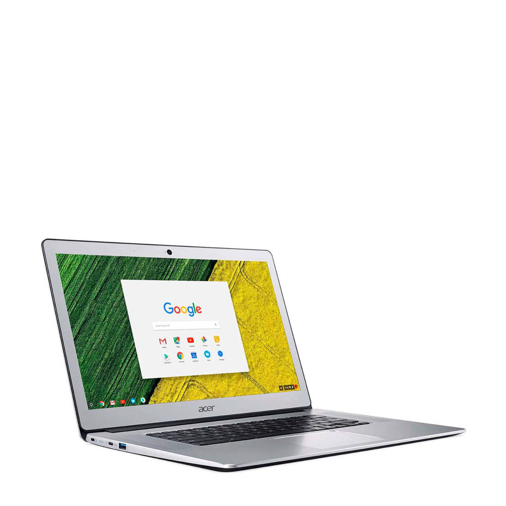 Acer  15.6 inch Full HD chromebook, Zilver