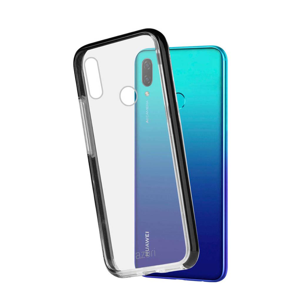 Azuri Flexible Bumper Huawei P Smart (2019) Back Cover, Transparant, zwart