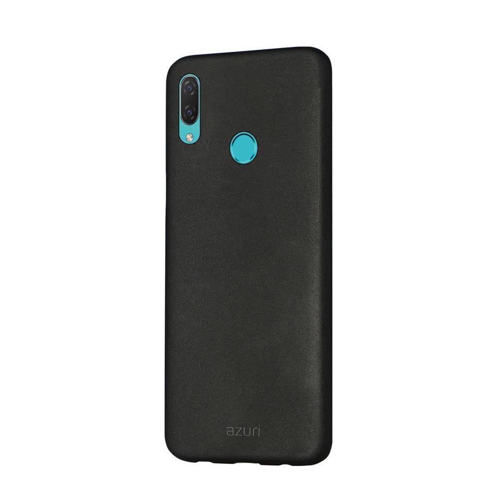 Azuri  Huawei P Smart 2019 backcover (zwart), Zwart