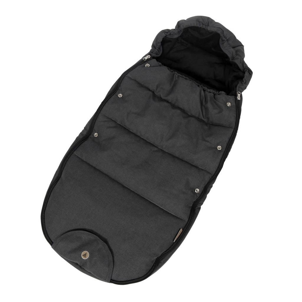 Topmark voetenzak luxe zwart, Zwart