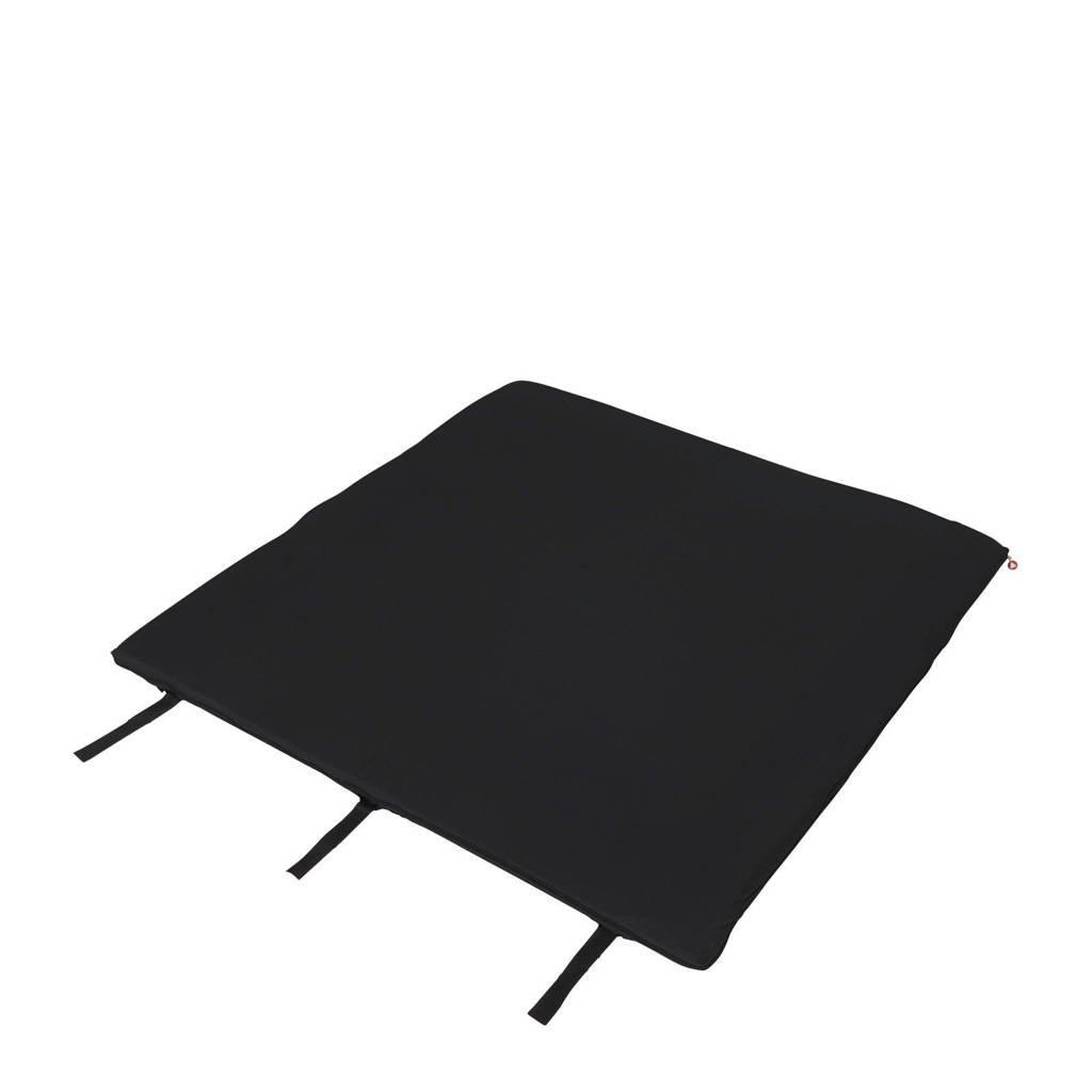 Topmark matras voor campingbed/box Parker, Zwart