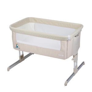 Calidoo co-sleeper wieg beige